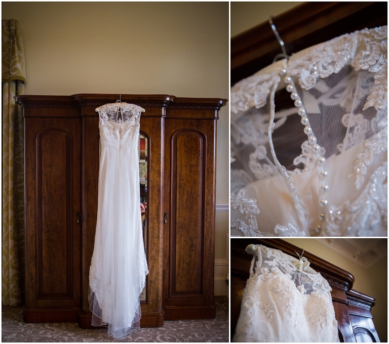 Gorgeous Bridal gown Matfen Hall