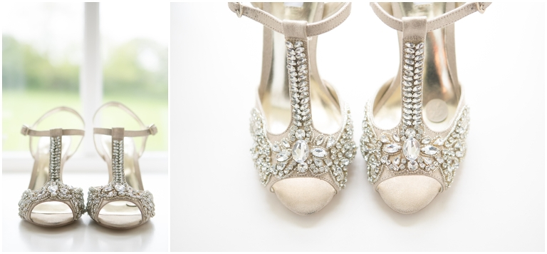 Beautiful Embellished Bridal Shoes
