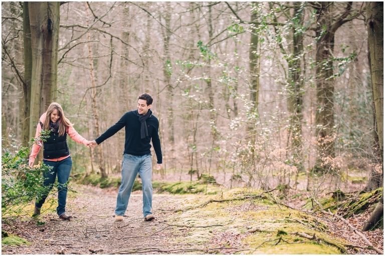 A Romantic Stroll in Chopwell Woods